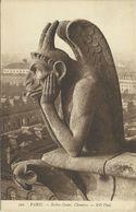 3 AKs / CPAs Paris Notre Dame Chimères ~1920 # - Notre Dame De Paris