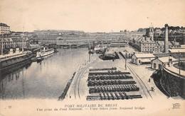 Cartolina Brest Port Militaire Vue Prise Du Pont National - Cartoline