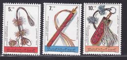 MAURITANIE N°  406 à 408 ** MNH Neufs Sans Charnière, TB (D8956) Artisanat - 1979 - Mauritanie (1960-...)
