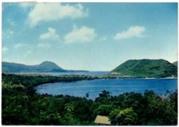 CPSM GF DOMINICA - Sunday Island - Douglas Bay, Prince Rupert Bay - Dominique - Postcards