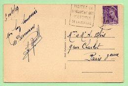 """DAGUIN  - DORMANS  """"VISITEZ LE MONUMENT DES VICTOIRES DE LA MARNE"""" - 1939 - 1921-1960: Modern Period"""