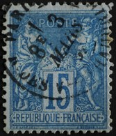 -Sage N°90 Type Ll  .O. ( CAD ) PARIS Rue Des Vieilles Haudriettes - 1876-1898 Sage (Type II)