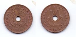 Rhodesia & Nyasaland 1/2 Penny 1964 - Rhodesia