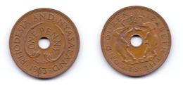 Rhodesia & Nyasaland 1 Penny 1963 - Rhodesia