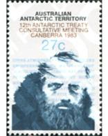 Ref. 162847 * MNH * - AUSTRALIAN ANTARCTIC TERRITORY. 1983. 12 REUNION CONSULTIVA SOBRE EL TRATADO ANTARTICO - Australian Antarctic Territory (AAT)