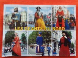 59 - LES GEANTS, G. De Quicampoix, P. De Guethem, J. Maillotte, J. De Constantinople, G. Le Teinturier, P. De Roubaix - France