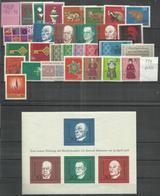 """BRD Jahrgang 1968"""" 546-575. Außer 574., Ausgewählte Qualität, Tip-top """"postfrisch Mi.-Preis 15,20 - [7] République Fédérale"""