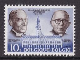 TIMBRE NEUF DE BELGIQUE - COLLOQUE DE LOUVAIN N° Y&T 1765 - Theologen