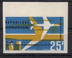 Centrafrique 1966 Yvert PA 38 Non Dentelé Neuf** MNH (93) - Central African Republic