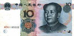 6206 -2019     BILLET BANQUE     CHINE - Chine