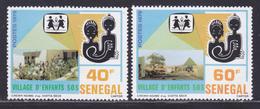 SENEGAL N°  512 & 513 ** MNH Neufs Sans Charnière, TB (D8958) Village D'enfants S.O.S. - 1979 - Senegal (1960-...)