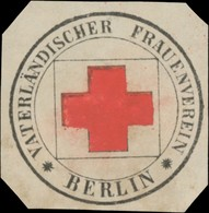 Berlin: Vaterländischer Frauenverein Siegelmarke - Cinderellas