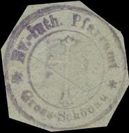 Großschönau: Ev. Pfarramt Grosschönau Siegelmarke - Cinderellas