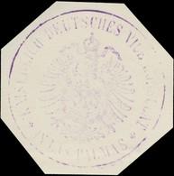Las Palmas: K. Deutsches Vice Konsulat In Las Palmas Siegelmarke - Cinderellas