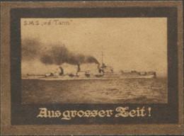 Aus Grosser Zeit - S.M.S. Von Der Tann Reklamemarke - Erinofilia