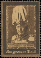 Aus Grosser Zeit - Generalstabschef Von Moltke Reklamemarke - Erinnophilie
