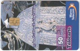 MAROC A-321 Chip Telecom - Culture, Traditioal Craft - Used - Morocco