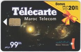 MAROC A-328 Chip Telecom - Universum, Galaxy - Used - Morocco