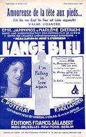 MARLENE DIETRICH - L'ANGE BLEU - 1930 - AMOUREUSE DE LA TETE AUX PIEDS - ETAT PROCHE DU NEUF - CARTE PHOTO CADEAU - - Compositeurs De Musique De Film