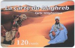 MAROC A-338 Prepaid Telecom - Landscape, Desert, Animal, Camel - Used - Morocco