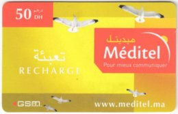 MAROC A-339 Prepaid Telecom - Animal, Bird - Used - Morocco