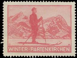 Partenkirchen: Winter-Partenkirchen Reklamemarke - Cinderellas