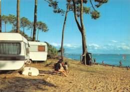 ANDERNOS LES BAINS   Camping De Fontainevieille  Bd WURTZ LE MAURET  9 (scan Recto Verso)MG2810 - Andernos-les-Bains