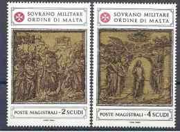 1980 ORDRE MALTE 183-84 **  Art, Sculpture - Malte (Ordre De)