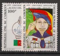 Cameroun - 1981 - Poste Aérienne PA N°Yv. 307 à 308 - Scoutisme - Neuf Luxe ** / MNH / Postfrisch - Cameroon (1960-...)