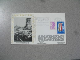 Enveloppe 1984 40 è Anniversaire - Robert-Espagne   Cachet Meuse - Marcophilie (Lettres)