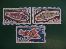 TAAF YVERT POSTE ORDINAIRE N° 43/45 - TIMBRES NEUFS** LUXE - MNH - COTE 26,50 EUROS - Neufs