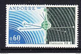 Andorra Fr. 1965 Satellite FR 1 ** Mnh (42695) - Ruimtevaart