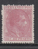 Fernando Poo Sueltos 1879 Edifil 3 (*) Mng - Fernando Poo