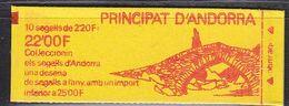 Andorra Fr. 1988 Definitive / Booklet 1v  ** Mnh (42695A) - Postzegelboekjes