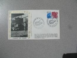 Enveloppe 1984 40 è Anniversaire - Libération Combat De Chars  Cachet  Dompaire - Marcophilie (Lettres)
