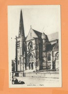 CPA  -  Baron  -(Oise) - L' Eglise - France