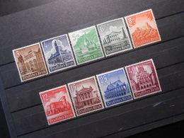 D.R.Mi 751-754*MLH/ 755**MNH/ 756-759*MLH - 1940 - Mi 18,00 € - Deutschland