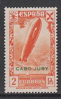 Cabo Juby Sueltos Beneficencia Edifil 6 ** Mnh - Kaap Juby