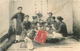 TONKIN - La Partie De Carte - Vietnam