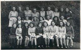 Photo Format Cpa - Groupe De Jeunes Filles - COZES 17 ? - Personnes Anonymes