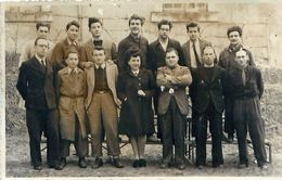 Photo Format Cpa - Groupe De Personnes - Photo BRISSET à PONS 17 - Personnes Anonymes