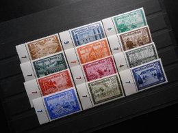 D.R.Mi 702-713**MNH - 1939 - Mi 85,00 € - Unused Stamps