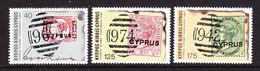 Cyprus 1980 Stamp Centenary 3v ** Mnh (42697) - Ongebruikt