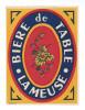 Etiquette De Bière De Table  -  La Meuse - Bière
