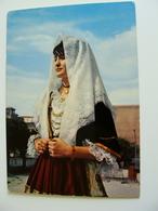 SELARGIUS   COSTUMI SARDI  SARDEGNA  SASSARI   VIAGGIATA COME DA FOTO ITALY ITALIE - Costumi