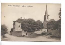 70 - MEMBREY - L' Ecole Et L' Eglise - Autres Communes