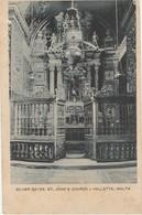 Malte   Silver Gates Of St John Church Valetta - Malte