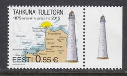 Estland 2015. Tahkuna Lighthouse. 1 W. MNH. - Estonie
