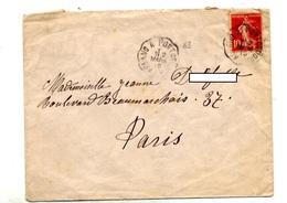 Lettre Cachet Convoyeur Arlanc à Pont - Marcophilie (Lettres)