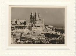 Malte  Carnet Carte De Voeux  Mellieha Church - Malte